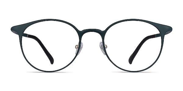 Solace Matte Green Plastic Eyeglass Frames