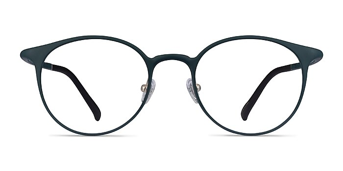 Solace Matte Green Plastic Eyeglass Frames from EyeBuyDirect