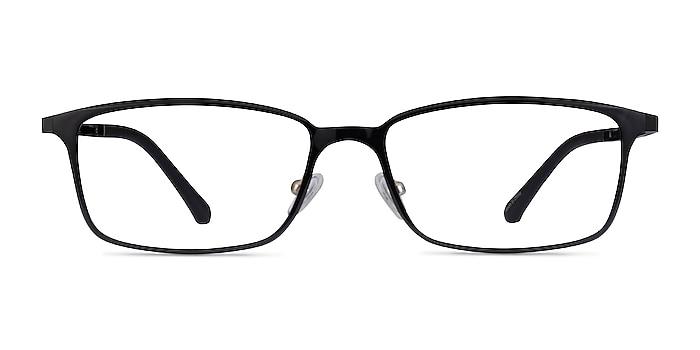 Modest Noir Plastique Montures de lunettes de vue d'EyeBuyDirect