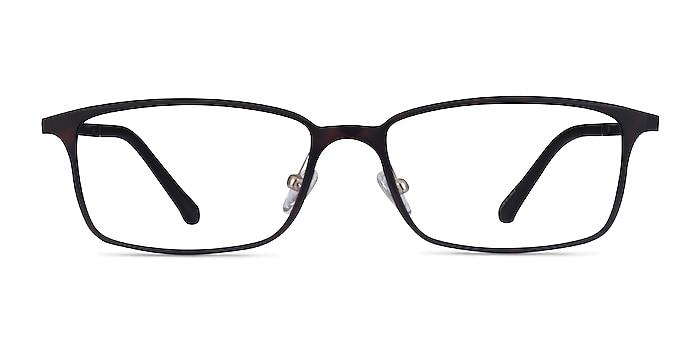 Modest Matte Tortoise Plastic Eyeglass Frames from EyeBuyDirect
