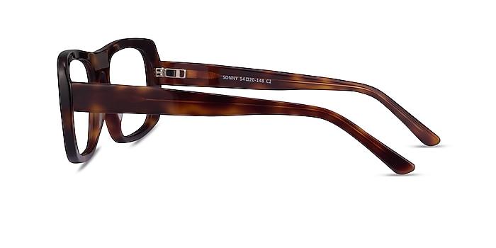 Sonny Tortoise Acetate Eyeglass Frames from EyeBuyDirect
