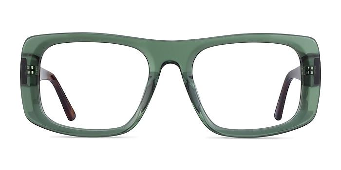 Sonny Clear Green Tortoise Acetate Eyeglass Frames from EyeBuyDirect