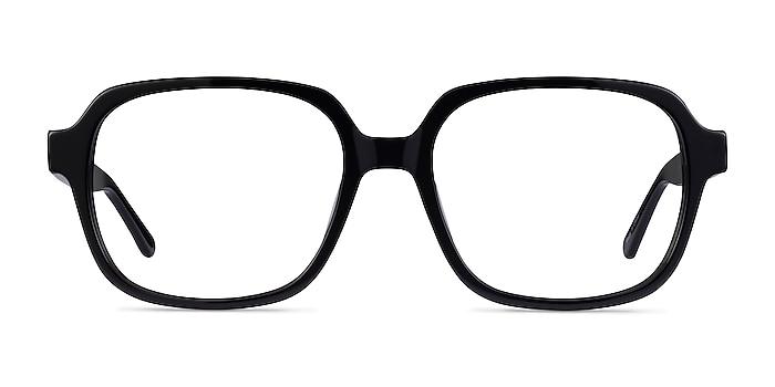 Kurt Noir Acétate Montures de lunettes de vue d'EyeBuyDirect