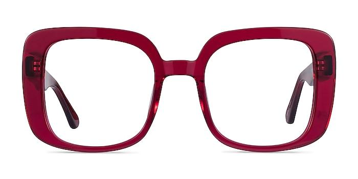 Calista Raspberry Acétate Montures de lunettes de vue d'EyeBuyDirect
