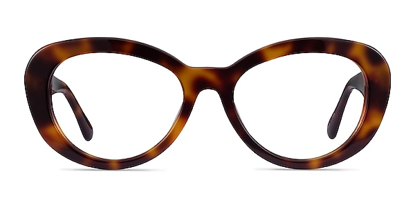 Dahlia Tortoise Acetate Eyeglass Frames