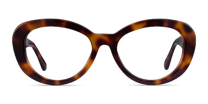Dahlia Tortoise Acetate Eyeglass Frames from EyeBuyDirect