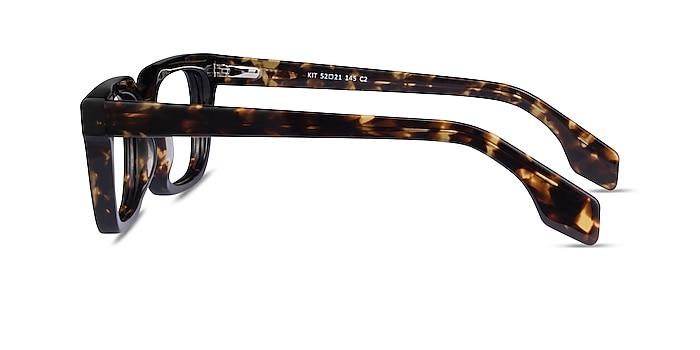 Kit Écaille Noire Acétate Montures de lunettes de vue d'EyeBuyDirect