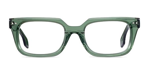 Kit Clear Green Acetate Eyeglass Frames