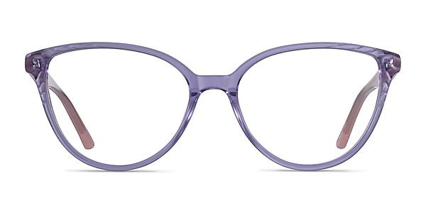 Wonder Clear Purple Pink Acetate Eyeglass Frames