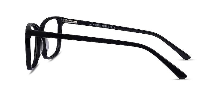 Meridian Black Acetate Eyeglass Frames from EyeBuyDirect