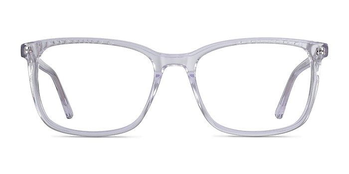 Meridian Clear Acetate Eyeglass Frames from EyeBuyDirect
