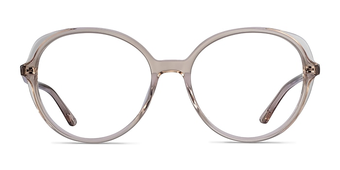 Pure Champagne Acetate Eyeglass Frames from EyeBuyDirect