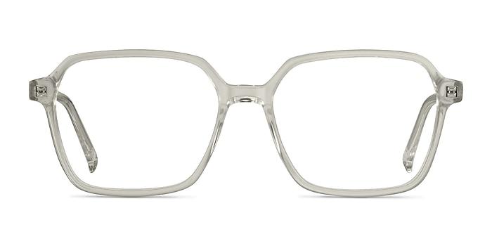 Bucolic Clear Yellow Acetate Eyeglass Frames from EyeBuyDirect