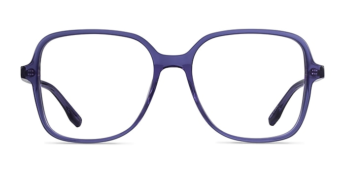 Bloom Clear Purple Acetate Eyeglass Frames from EyeBuyDirect