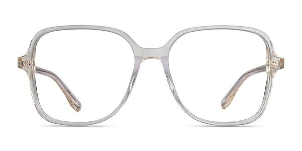 Bloom Clear Yellow Acetate Eyeglass Frames
