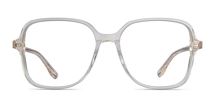 Bloom Clear Yellow Acétate Montures de lunettes de vue d'EyeBuyDirect