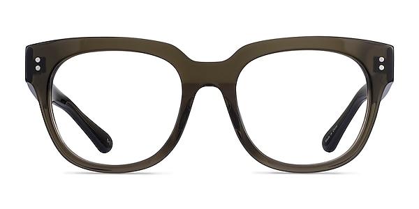 Life Clear Dark Green Acetate Eyeglass Frames