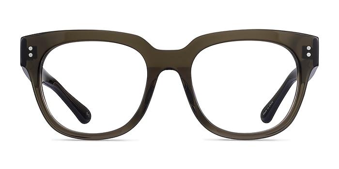 Life Clear Dark Green Acetate Eyeglass Frames from EyeBuyDirect