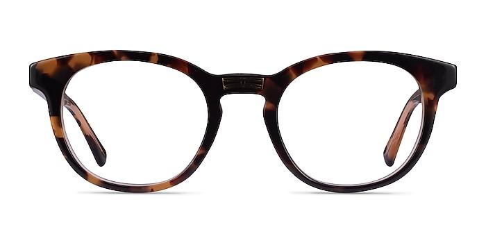 Hoop Tortoise Gold Acétate Montures de lunettes de vue d'EyeBuyDirect