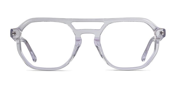 Stratum Clear Acetate Eyeglass Frames from EyeBuyDirect