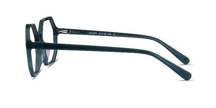 Glister Iridescent Dark Green Acetate Eyeglass Frames from EyeBuyDirect