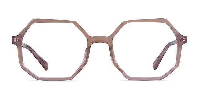 Glister Iridescent Purple Acétate Montures de lunettes de vue d'EyeBuyDirect