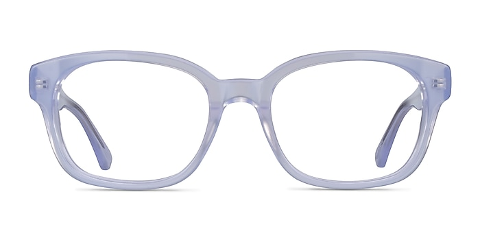 Neon Iridescent Clear Acetate Eyeglass Frames from EyeBuyDirect