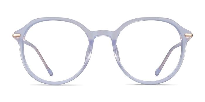 Original Iridescent Clear Acetate Eyeglass Frames from EyeBuyDirect