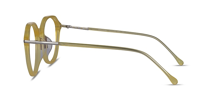 Original Iridescent Yellow Acetate Eyeglass Frames from EyeBuyDirect