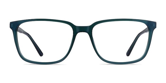 Prismatic Iridescent Green Acetate Eyeglass Frames from EyeBuyDirect