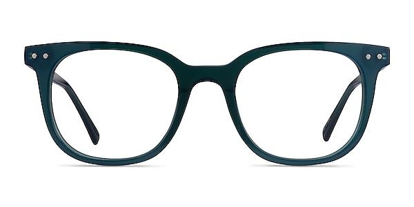 Kaleidoscope Iridecent Dark Green Acetate Eyeglass Frames