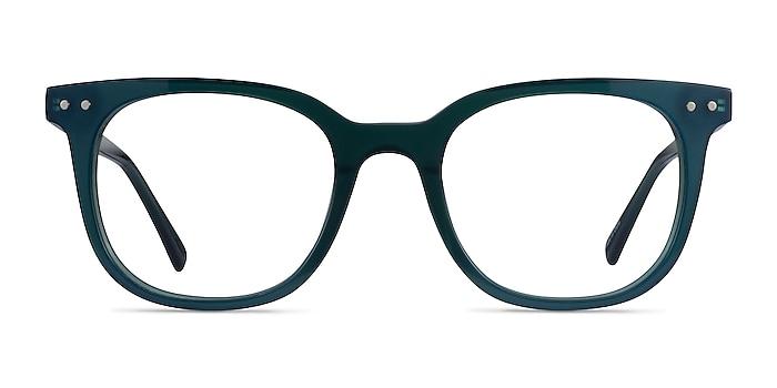 Kaleidoscope Iridecent Dark Green Acetate Eyeglass Frames from EyeBuyDirect