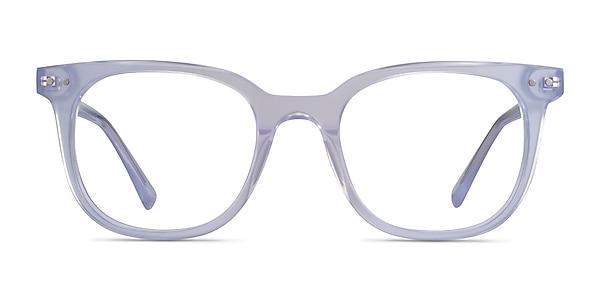 Kaleidoscope Iridescent Clear Acetate Eyeglass Frames