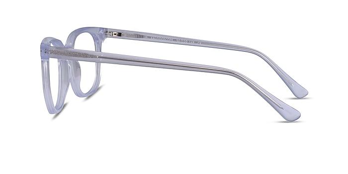 Kaleidoscope Iridescent Clear Acetate Eyeglass Frames from EyeBuyDirect