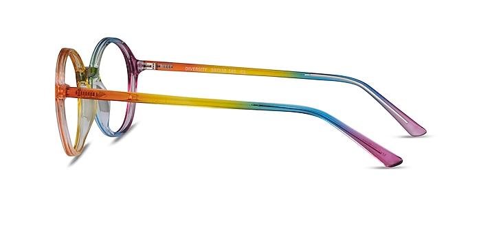 Diversity Rainbow Plastic Eyeglass Frames from EyeBuyDirect