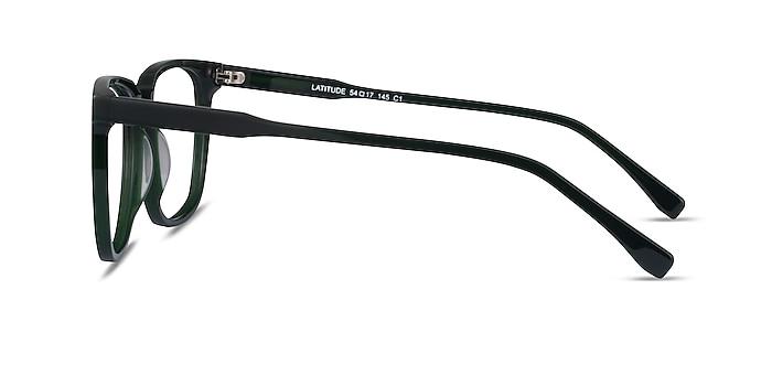 Latitude Green Acetate Eyeglass Frames from EyeBuyDirect