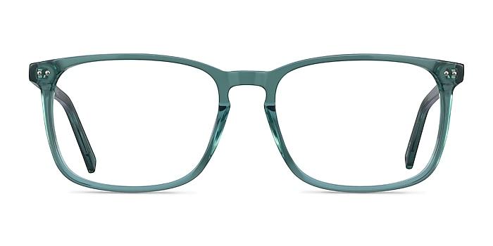 California Clear Green Acétate Montures de lunettes de vue d'EyeBuyDirect