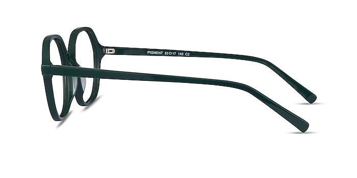 Pigment Green Acetate Eyeglass Frames from EyeBuyDirect