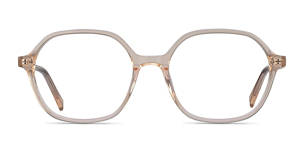 Pigment Clear Yellow Acetate Eyeglass Frames