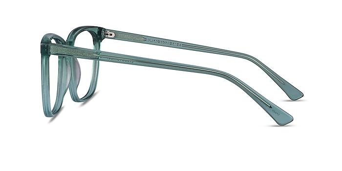 Boreal Clear Green Acetate Eyeglass Frames from EyeBuyDirect