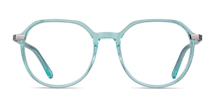 Niagara Clear Green Acetate Eyeglass Frames from EyeBuyDirect