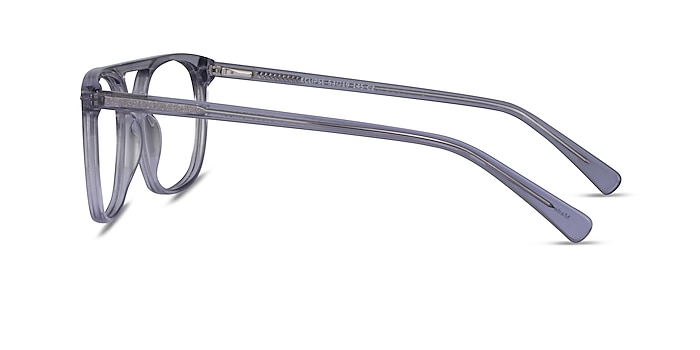 Eclipse Clear Gray Acétate Montures de lunettes de vue d'EyeBuyDirect