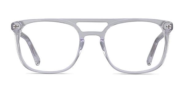 Eclipse Clear Acetate Eyeglass Frames