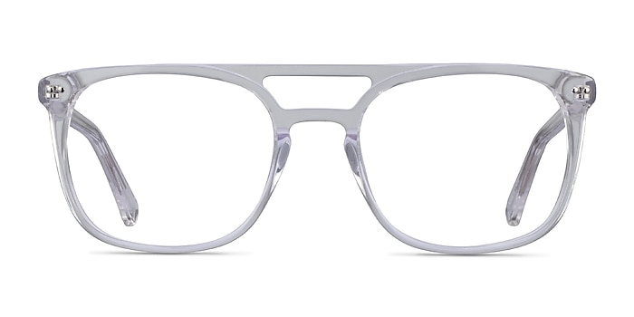 Eclipse Clear Acetate Eyeglass Frames from EyeBuyDirect