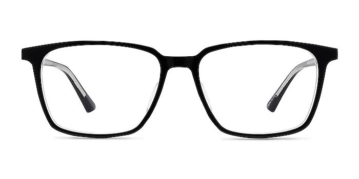 Juliana Black   Clear Acetate Eyeglass Frames from EyeBuyDirect