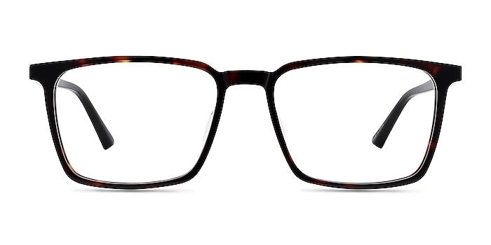 Fjord Tortoise Black Acetate Eyeglass Frames from EyeBuyDirect