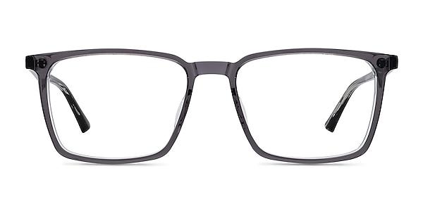 Fjord Clear Gray Striped Acétate Montures de lunettes de vue
