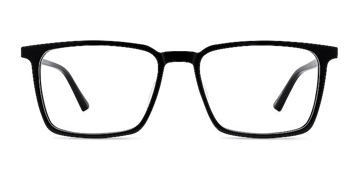 Fjord Noir Acétate Montures de lunettes de vue d'EyeBuyDirect