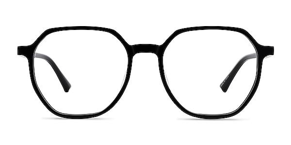 Tiki Black Acetate Eyeglass Frames
