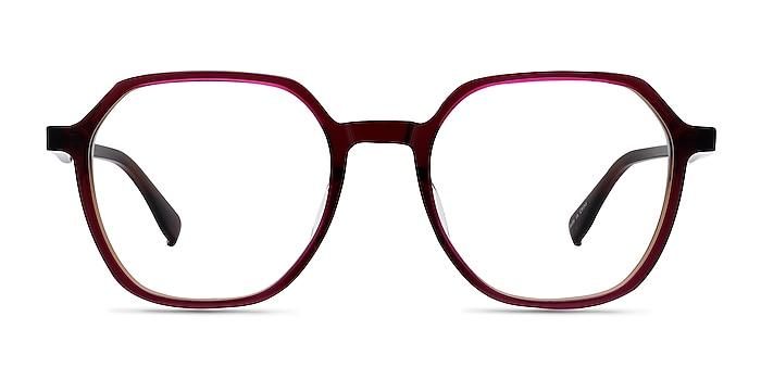 Oscar Brown   Pink Acetate Eyeglass Frames from EyeBuyDirect